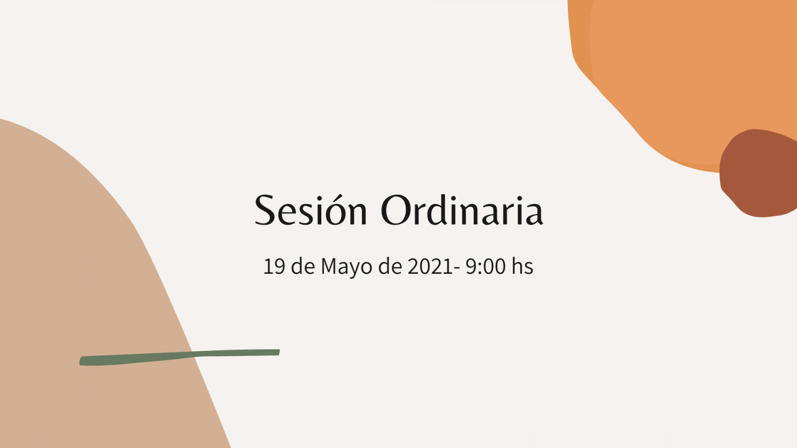 Brown and Orange Neutral Delicate Organic Fashion Marketing Presentation