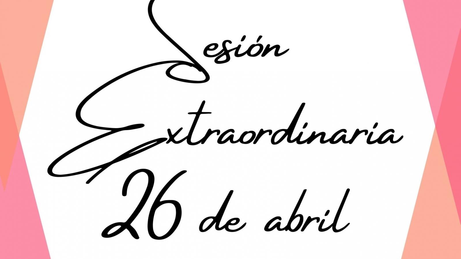 Sesión Extraordinaria 26042021